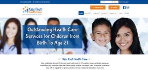 Kids First Health Care website