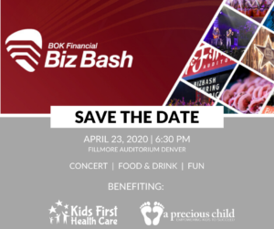 Save the date for Biz Bash - April 23, 2020